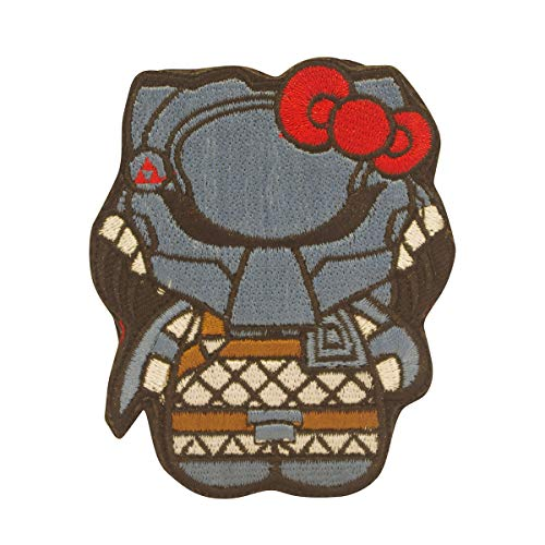 Cobra Tactical Solutions Predator Kitty Superhero and Villains Embroidered Airsoft Paintball Cosplay Patch with Hook & Loop for Airsoft Paintball