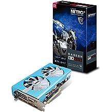 Sapphire Radeon RX 580 NITRO+ Special Edition 8 GB GDDR5 2xDP/2xHDMI/DVI-D Graphics Card - Blue