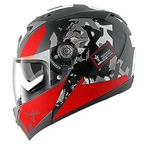 Shark - Casque moto - Shark S700 PINLOCK Trax MAT KRA - XL