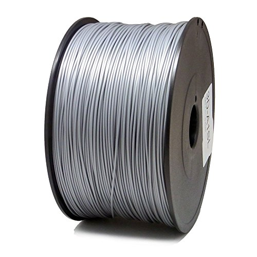 Price comparison product image SIENOC 1kg 1.75mm ABS 3D printer filament Printer - With coil (Silver)