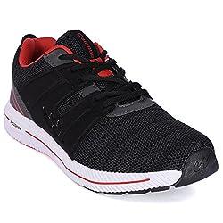 Campus ALTROS Black Running Shoes