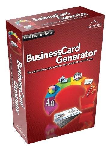 Summitsoft Business Card Generator (PC CD)