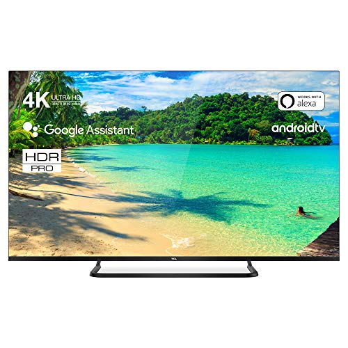 TCL 50EP680 Televisor 126 cm (50 Pulgadas) Smart TV (4K UHD, HDR10 Pro, Micro Dimming Pro, Android TV, Alexa, Google Assistant)