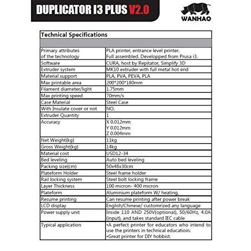 Wanhao – Duplicator i3 Plus Mark II - 6
