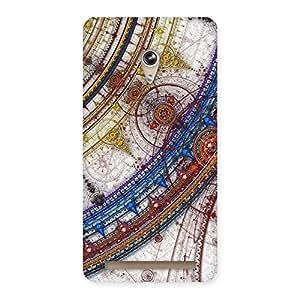 Gorgeous Sonarp Multicolor Back Case Cover for Zenfone 6