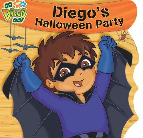 rty (Nick Jr. Go Diego Go! (Simon Spotlight Unnumbered)) by Brooke Lindner (2008-08-05) (Nick Jr Halloween)
