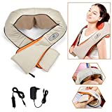 HENGDA électrique épaule Appareil massage du dos massage Shiatsu Massage de la Nuque Massage, infrarouge, 8têtes de massage rotatives