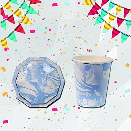 Einweg Geschirr-Set für Kinder Geburtstag Party Hochzeit Festival Supplies B (Einweg-kinder-tischsets)