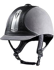 CHOPLIN Bomba Equitation casco Premium, gris