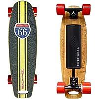 Skate eléctrico de 300 W y ruedas pequeñas de 7 cm con tabla con motor, muy ligero
