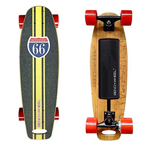 Mucho Más ligero 2,75pulgadas pequeñas ruedas 300W eléctrico monopatín con Hub motores–Tabla de skate