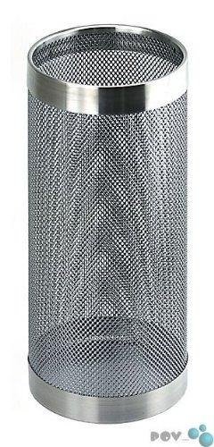 POV® Perforierter Schirmständer, Chrom -