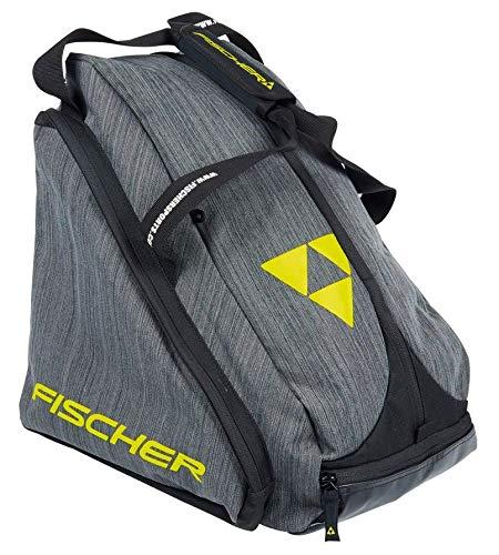 Fischer Unisex– Erwachsene Skibootbag Alpine Fashion, schwarz/grau, OneSize
