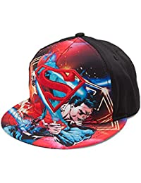 DC Comics Superman Battle Mode Youth Snapback Casquette De Baseball