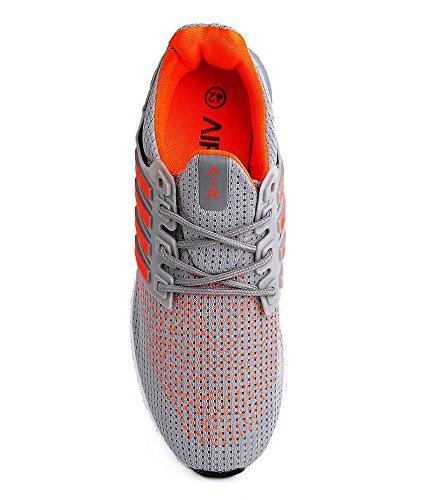7d6f8b7a3f2cd8 43% OFF on Air Sport Gray Men s Running Shoes (Size - 8) on Amazon ...