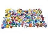 48 personnages différents Pokemon dans l'ensemble FIGURES CARTON 1-3 cm ...