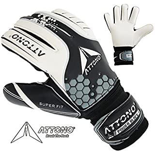 ATTONO ' Goalkeeper Gloves POWER BLOCK II Finger Save Goalkeeper Gloves