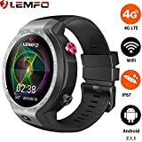 LEMFO LEM9 - Dual Systems Smartwatch 4G LTE Phone Android 7.1.1 1GB+16GB 1.39