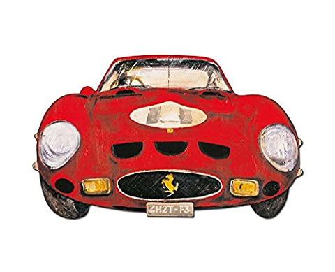 LOMBARDINO - Ferrari (Decorative Panel 67x40