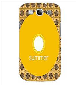 PrintDhaba Designer image D-4001 Back Case Cover for SAMSUNG GALAXY S3 (Multi-Coloured)