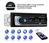 Car Radio, CENXINY Single DIN MP3 Car Stereo Receiver with Bluetooth 4.2, AM/FM