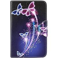 Tab 3 Lite 7.0 Samsung Funda de Cuero,Ultra-Thin Slim Funda de Cuero de Piel Carcasa para el Samsung Galaxy Tab 3 7.0 Lite (SM-T110 SM-T111 SM-T113 SM-T116)Tablet Smart Case Cover con Soporte