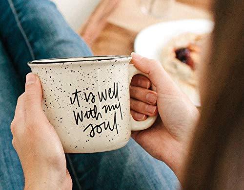ut Kaffee-Haferl Glaube Becher christliche Becher Lagerfeuer Keramik Becher Geschenke f¨¹r ihren Herbst Becher ()