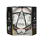 adidas Fußball Finale Milano OMB 16 Offizieller AC5487, weiß (White/Black/Silver Met), Gr. 5