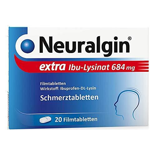Neuralgin extra Ibu-Lysinat 684 mg, 20 St. Filmtabletten