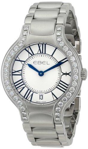 Ebel 1216071Beluga reloj de acero inoxidable de la mujer por Ebel