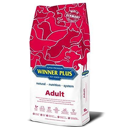 WINNER PLUS Adult 18 kg – Alimento monoproteico con carne di pollo per cani adulti di tutte le razze