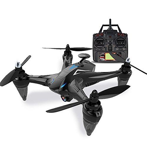 Auntwhale gw198 professional elicottero quadcopter, rc drone con 120 ° fov wide angle 1080p 5.0mp hd 5g wifi fpv camera
