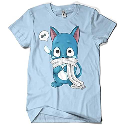 ropa kawaii para los mas guays 3310-Camiseta Happy (PsychoDelicia)