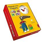 P'tit Loup - Apprends a lire l'heure ! - Coffret livre + horloge de Orianne Lallemand