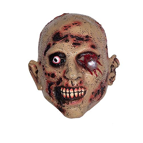 Halloween Latexmaske Erwachsener Terrorist Latexmaske Kopfbedeckung Scary Resident Evil Zombie Performance Requisiten