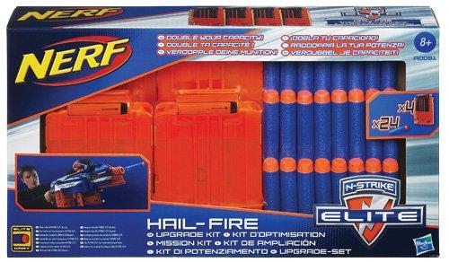 Hasbro A0091148 - Nerf N-Strike Elite Hail-Fire Mission Kit