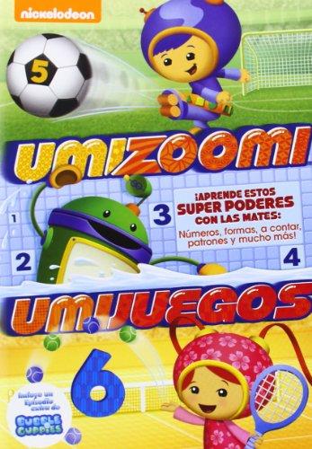 Equipo Umizoomi: Umijuegos [DVD]
