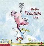 Helme Heine - Freunde - Posterkalender - Kalender 2016 - Heye-Verlag - Wandkalender mit Schulferien - 32 cm x 33 cm