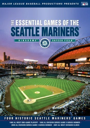 Seattle Mariners-video (Essential Games of the Seattle Mariners by A&E Home Video)