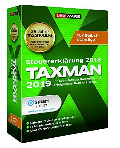 Lexware Taxman 2019 für das Steuerjahr 2018 für Selbstständige Übersichtliche Steuererklärungssoftware für Selbstständige, Gründer und Unternehmer Kompatibel mit Windows 7 oder aktueller