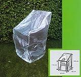 Schutzhülle Haube Abdeckhaube Hülle für Gartenstühle ca. 65 x 65 x 150/110 (H) cm