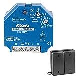 Funkaktor Universal LED Dimmschalter Dimmer Set für dimmbare LED bis 100W für die Unterputzdose, Eltako Dimmer + Funksensor