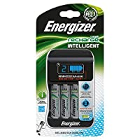 Energizer Intelligent AA/AAA Battery Charger UK Plus With 4AA 2000mah Rechargeable Batteries