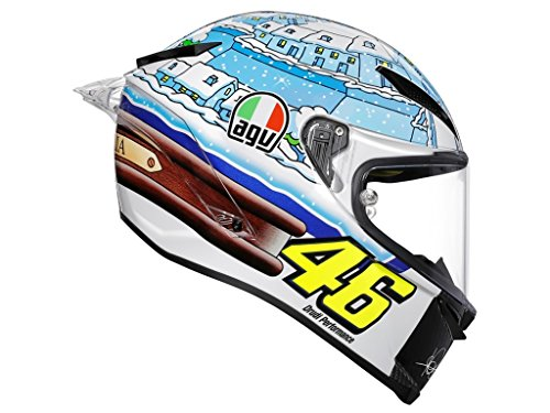 AGV Pista GP-R Rossi Winter Test 2017 Integralhelm L (60/61)