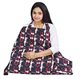 #8: Nursing Cover for Breastfeeding Privacy EXTRA WIDE for Full Coverage - Breathable 100% Cotton , Stylish and High Quality with Pocket