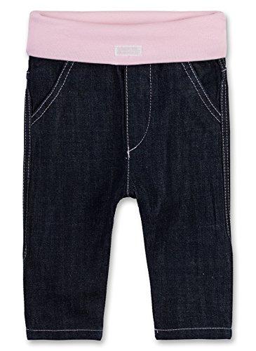 Sanetta Baby-Mädchen Jeans 906353, Blau (Dark Blue 9482), 62