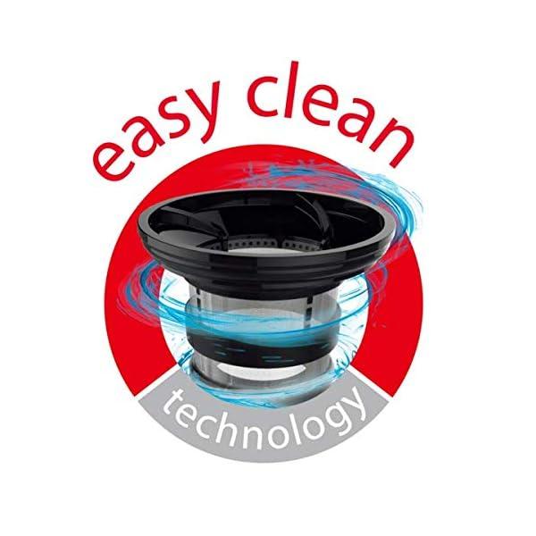 Moulinex ZU420E Juice & Clean, Estrattore di Succo a Freddo, con Teconlogia Easy Clean per una Pulizia Facile, Touch Screen, 0.8 Litri - 2021 -
