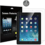 JETech 2-Pack iPad 2 / 3 / 4 Schutzfolie Premium Folien Kristallklar Displayschutz Screen Protector für Apple iPad 2/3/4 (HD Klar)