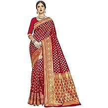Glory Sarees Women's kanchipuram Style Art Silk Saree