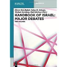 Handbook of Israel: Major Debates: Cleavages, The Challenge of Post-Zionism, Israel Outward